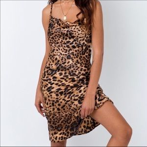 Princess Polly midi Cheetah / leopard dress